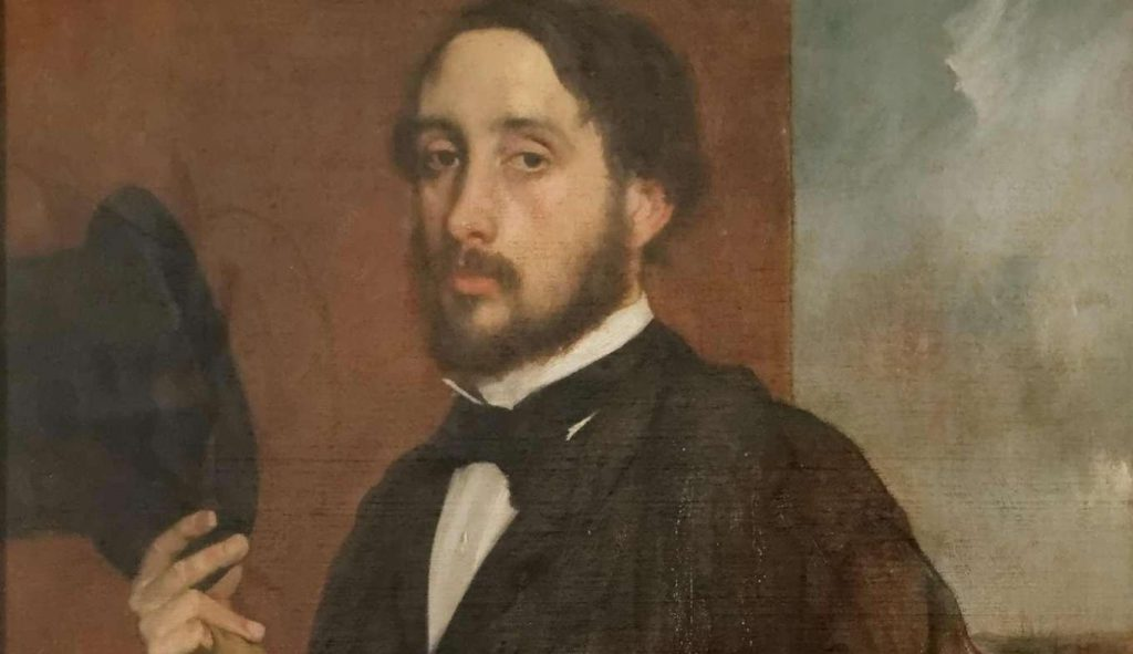 Autoportret Degasa