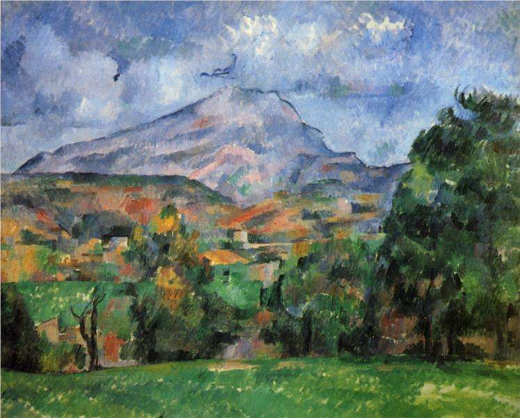 Góra Świętej Wiktorii - obraz Cezanne'a