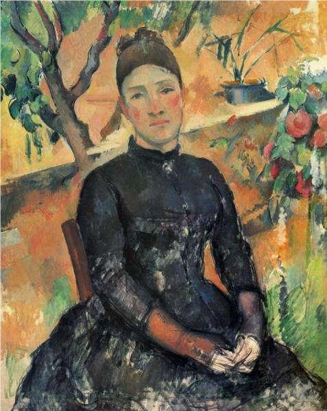 Pani Cezanne w oranżerii