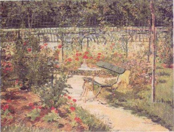 Obraz Maneta - Ławka