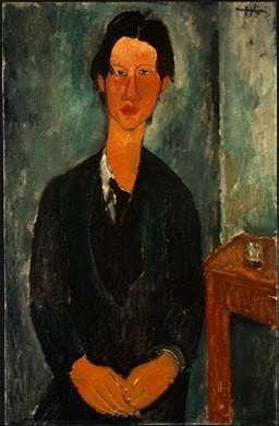 Chaim Soutine - portret wykonany przez Modiglianiego
