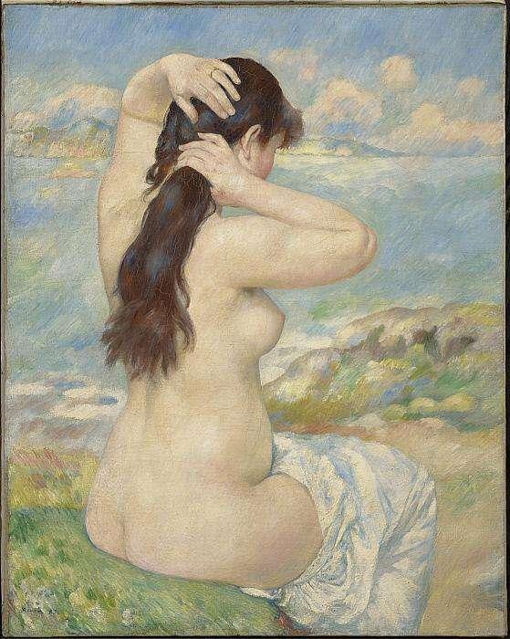 Obraz Renoira - Bather arranging her hair